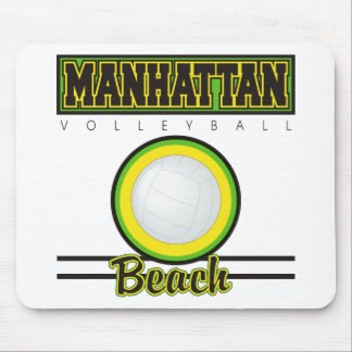 Manhattan Beach Volleyball Mouse Pad