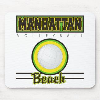 Manhattan Beach Volleyball Mousepad