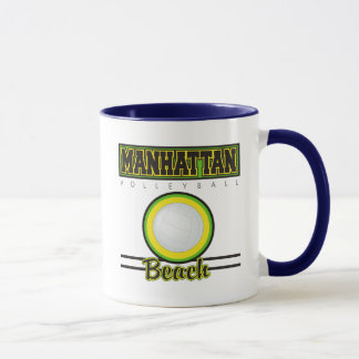 Manhattan Beach Volleyball Mug