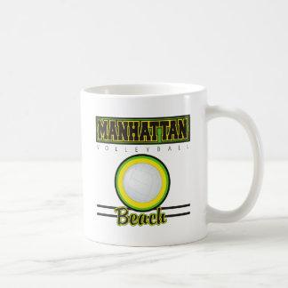 Manhattan Beach Volleyball Coffee Mugs