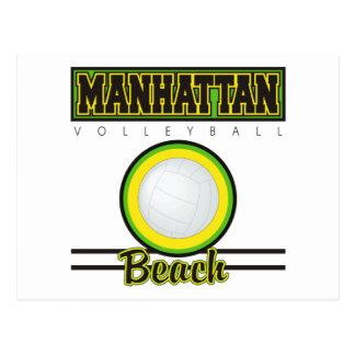 Manhattan Beach Volleyball Postcard