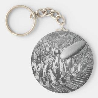 Manhattan Blimp Key Chains