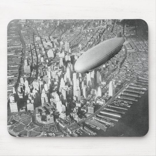 Manhattan Blimp Mouse Pad