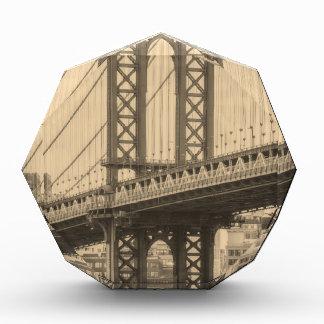 Manhattan Bridge Acrylic Award