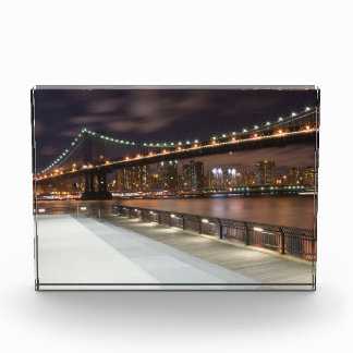 Manhattan Bridge and NYC Skyline Award