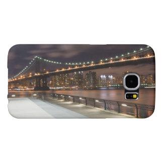 Manhattan Bridge and NYC Skyline Samsung Galaxy S6 Case