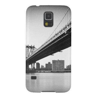 Manhattan Bridge and skyline, New York, US. Case For Galaxy S5