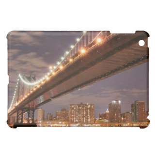 Manhattan Bridge At Night, New York City Case For The iPad Mini