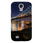Manhattan Bridge at Night Samsung Galaxy S4 Case