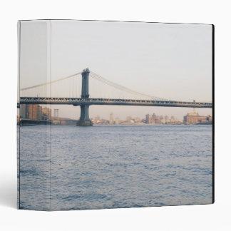 Manhattan Bridge 3 Ring Binders