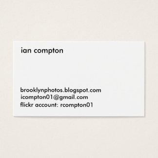 Manhattan Bridge Business Card