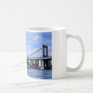 Manhattan Bridge, Empire State Building Coffee Mugs