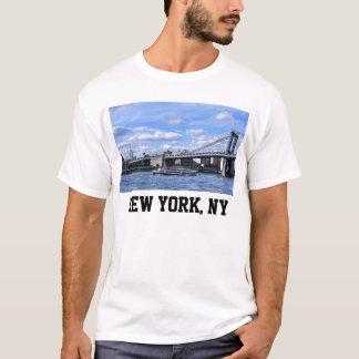 Manhattan Bridge, Empire State Building T-Shirt
