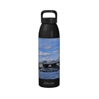Manhattan Bridge, Empire State Building Water Bottle