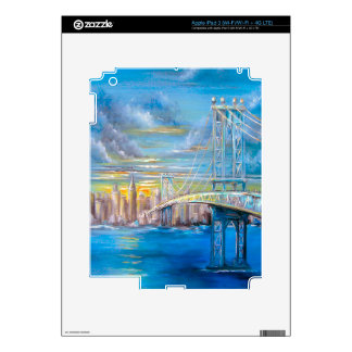 Manhattan Bridge iPad 3 Decal