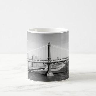 Manhattan Bridge mug