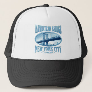 Manhattan Bridge New York Trucker Hat