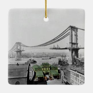 Manhattan Bridge Ornament