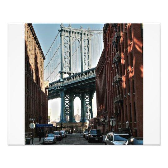 Manhattan Bridge Photo Print