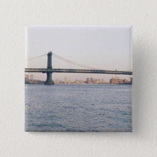 Manhattan Bridge Pinback Button