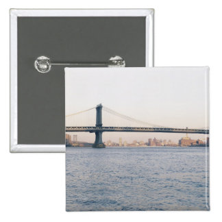Manhattan Bridge Pinback Button