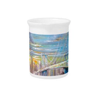Manhattan Bridge Pitcher