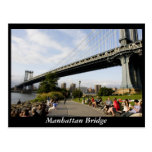 Manhattan Bridge Post Card