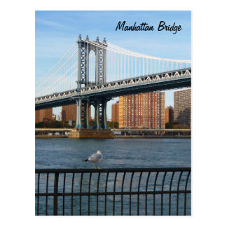 Manhattan Bridge Postcard