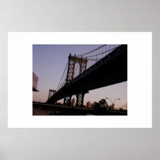 Manhattan Bridge Posters