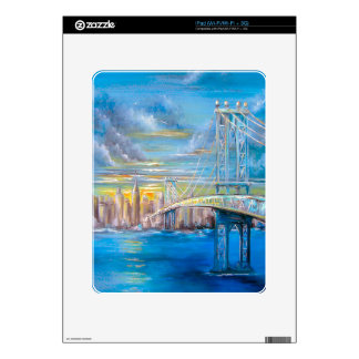 Manhattan Bridge Skins For iPad