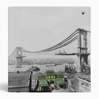Manhattan Bridge Vintage Photo Binder