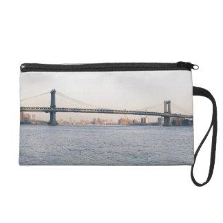 Manhattan Bridge Wristlet Purse