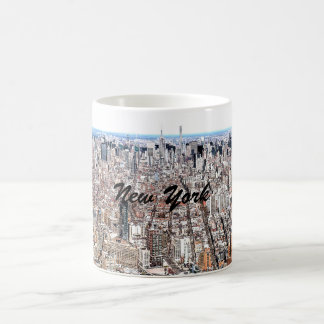 Manhattan Color Sketch Mug