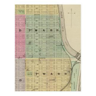 Manhattan, Coronado, Towanda, Kansas Postcard