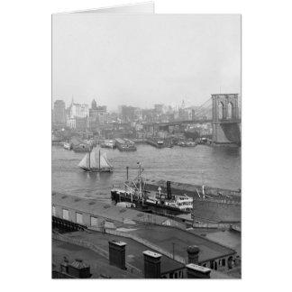 Manhattan de Brooklyn, 1905 Felicitaciones