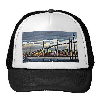 Manhattan de la materia de Staten Island CricketDi Gorros