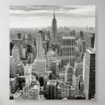 Manhattan desde arriba posters