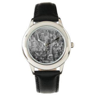 Manhattan desde arriba reloj