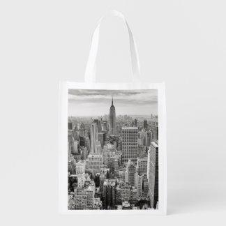 Manhattan desde arriba bolsas de la compra
