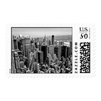Manhattan District Postage Stamp