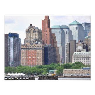 Manhattan Distrito-Más baja financiera Arte Fotográfico