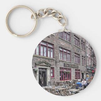 Manhattan Distrito-Más baja financiera Llavero Redondo Tipo Pin