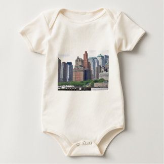 Manhattan Distrito-Más baja financiera Mameluco De Bebé
