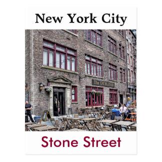 Manhattan Distrito-Más baja financiera Tarjeta Postal