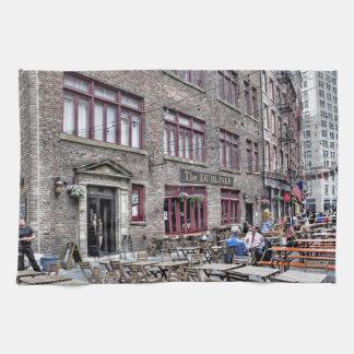 Manhattan Distrito-Más baja financiera Toalla De Mano