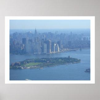 Manhattan e isla de los gobernadores poster