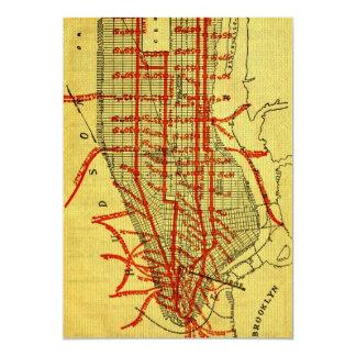 Manhattan Elevated Railway System (1900) Part I Card