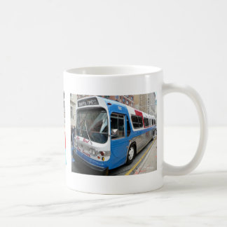 Manhattan Express Bus Classic White Coffee Mug