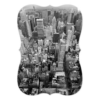 Manhattan from Above Card