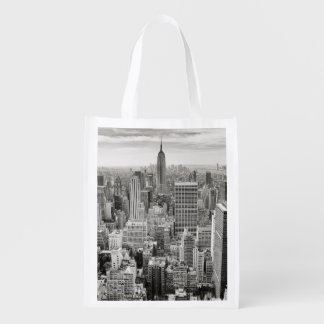 Manhattan from Above Grocery Bags